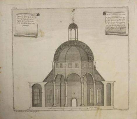 Jakarta Dutch Church (Year : 1739) by Johann Wolfgang Heydt