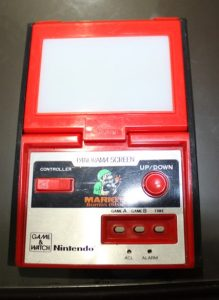 Mario's Bomb Away (1983, LCD and Refllective, 2 LR/SR 44 Batteries, Model# PB-94)