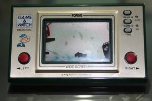 Popeye (1981, LCD, 2 LR/SR44 Batteries, Model# PP-23)