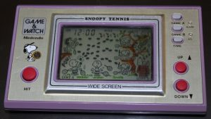 Snoopy (1982, LCD, 2 LR/SR44 Batteries, Model#SP-30)