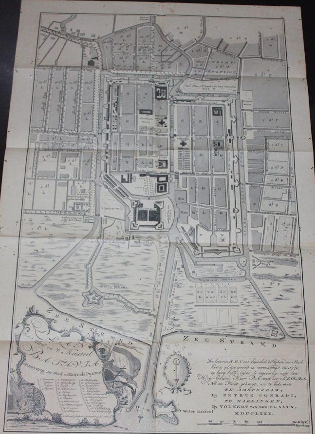 Batavia Castle 1780 by Petrus Conradi
